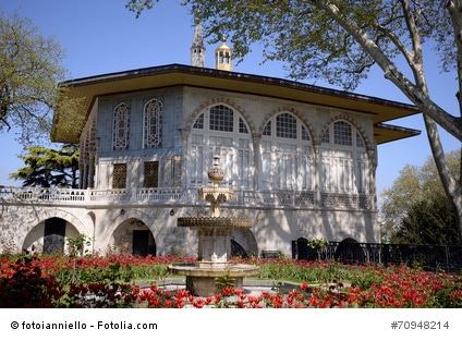 Topkapi Palast in Istanbul.