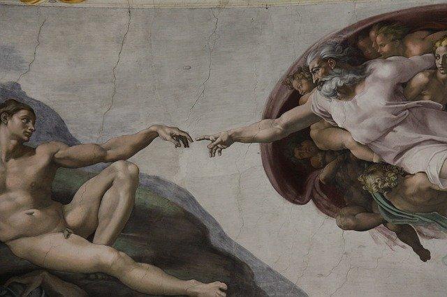 Die Erschaffung Adams in der Sixtinischen Kapelle. © pixabay.com