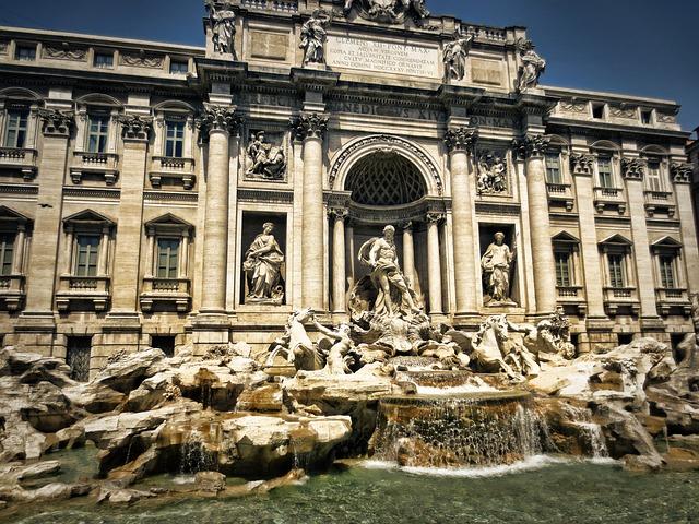Fontana di Trevi © pixabay.com