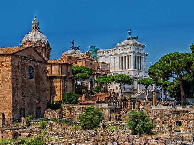 Forum Romanum - hier wurde Geschichte geschrieben und gesprochen. © pixabay.com
