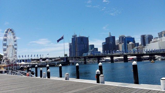 1. Tag Darling Harbour
