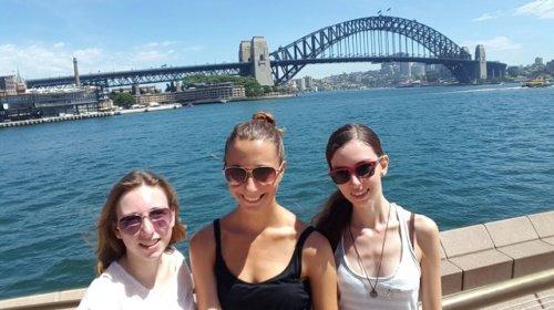 1. Tag Harbour Bridge mit Svenja & Lara
