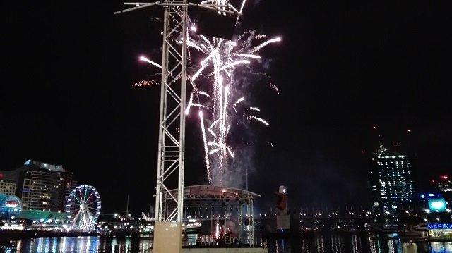3. Tag Feuerwerk Darling Harbour
