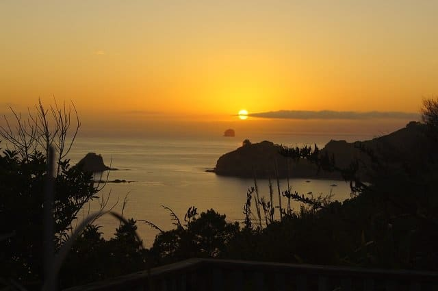 8. Tag: Sonnenaufgang Cathedral Cove