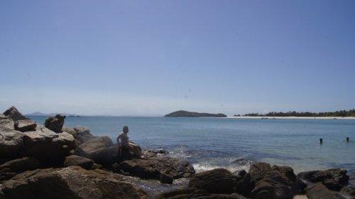 Ausblick: Keppel Island