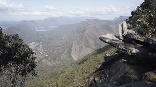 Landschaft im Boroka Lookout