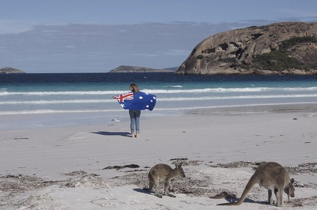Lucky Bay Australien
