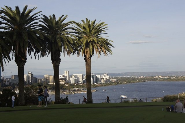 Der Kingspark in Perth