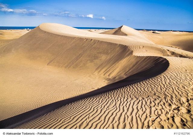 Die herrliche Dünenlandschaft von Maspalomas