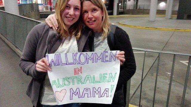 Melbourne - 25.05. Ankunft von Mama :-)