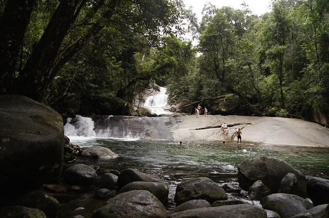 Josephine Falls Wasserfälle