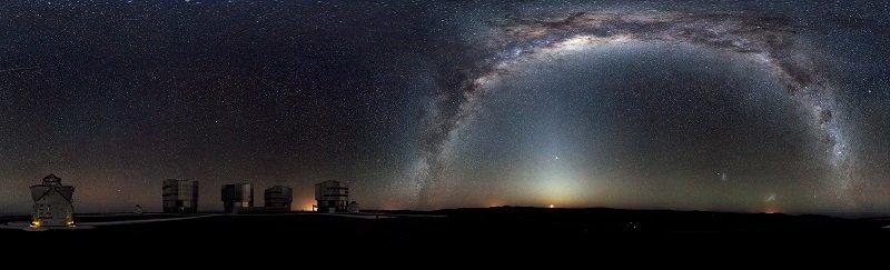 Milchstraßenpanorama © ESO