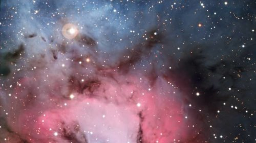 Trifidnebel © ESO