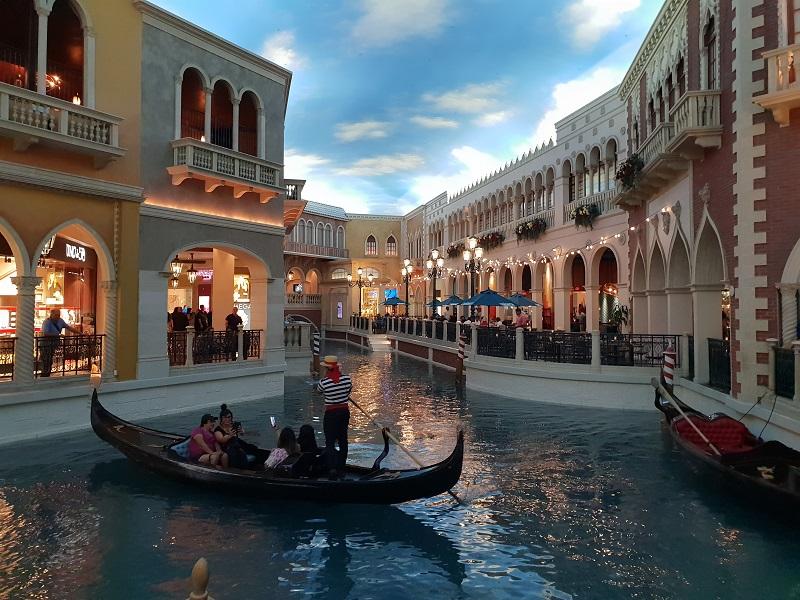 Las Vegas Strip Venedig