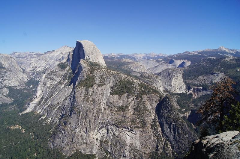 Gigantischer Ausblick auf den Yosemite Nationalpark